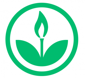 EKOenergy logo with gas flame