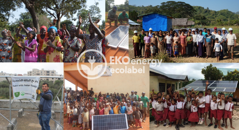 EKOenergy has contributed to projects alleviating energy poverty in developing countries, reached 1 million euros in 2020